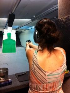 Monica shoots